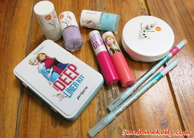 Peripera Disney Frozen Makeup Collection, Peripera, Disney Frozen, Peripera Frozen, Queen Elsa, Princess Anna