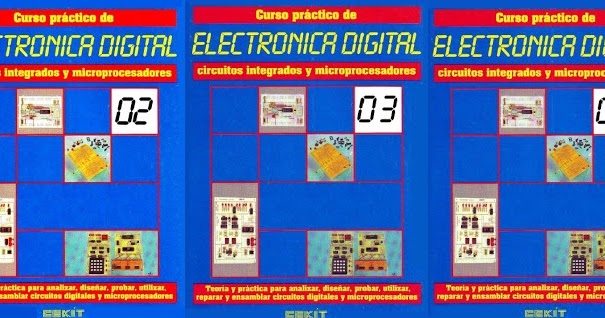 Electronica Y Telecomunicaciones Jc Curso Práctico De Electrónica Digital Cekit 5 Tomos Pdf
