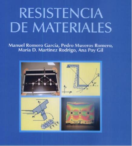 Resistencia de materiales – Manuel Romero García
