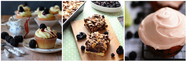 Treats and snacks using blackberries.