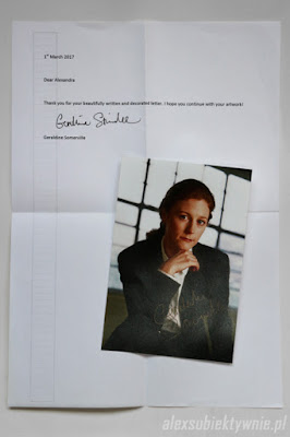 Autograf Geraldine Somerville (Lily Potter)