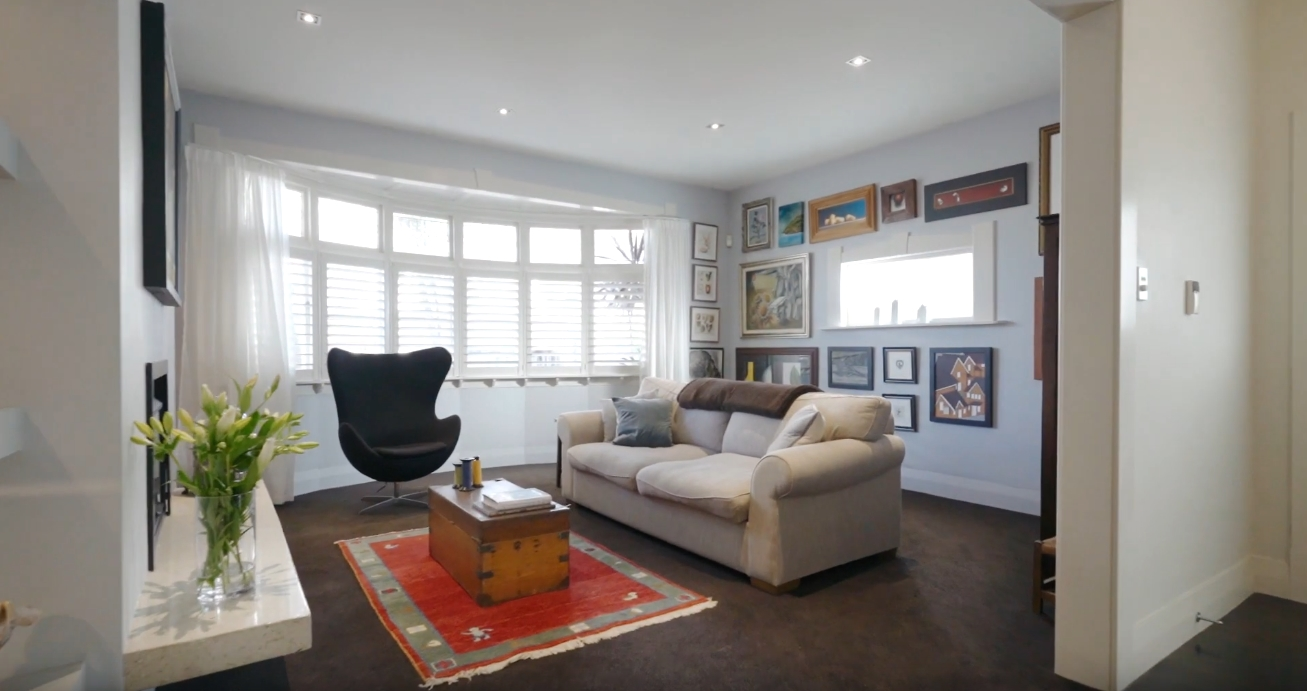 Home Interior Design Tour vs. 59B Argyle Street, Herne Bay, Auckland City
