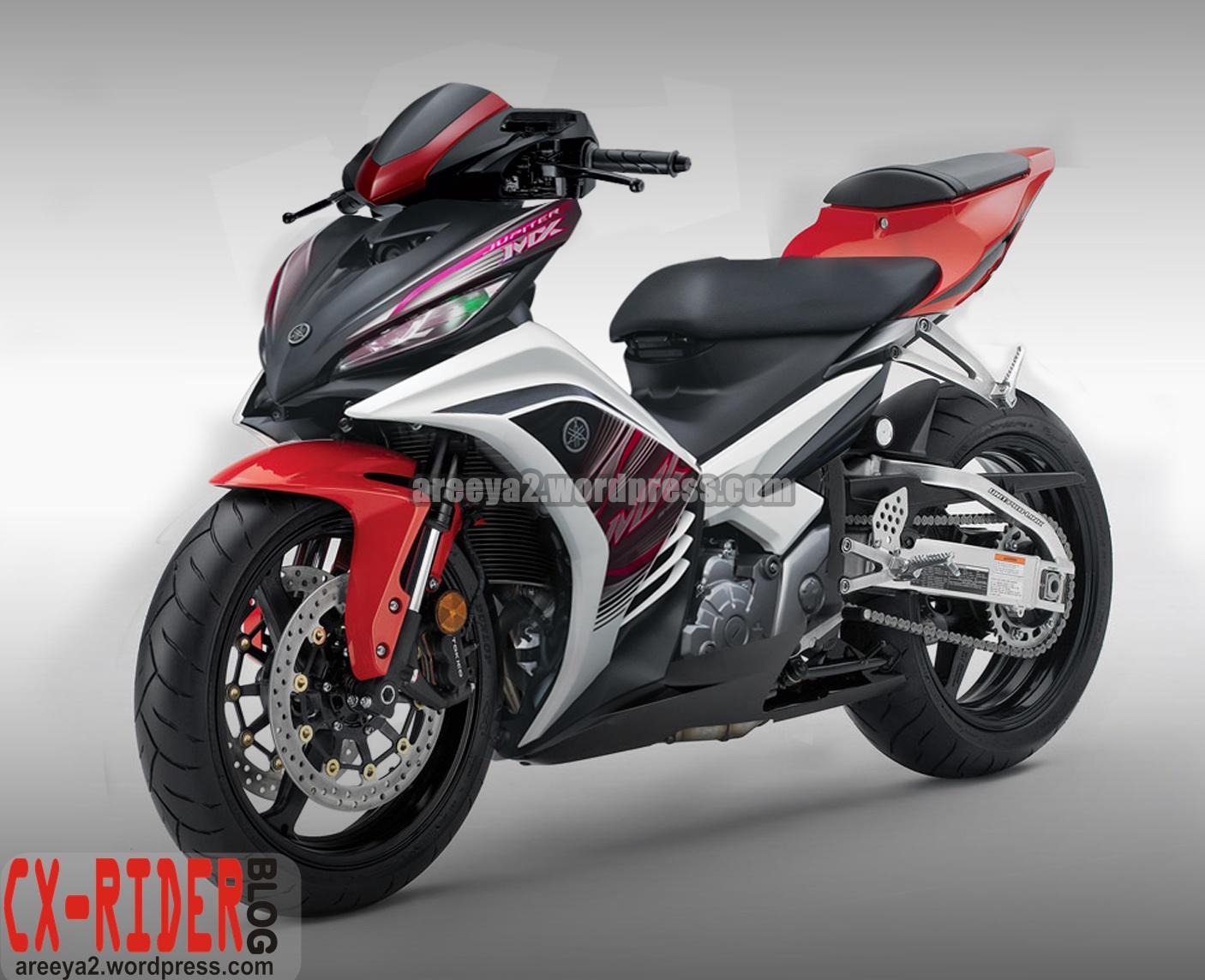 Foto Motor Jupiter Mx Di Modif Modifikasi Motor Yamaha