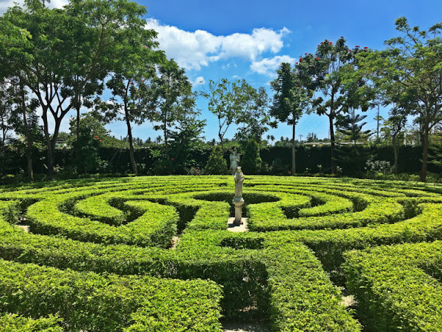 Things to do in Toledo City, Cebu. This is The Labyrinth Garden, just one of the popular tourist attractions in Toledo City, Cebu