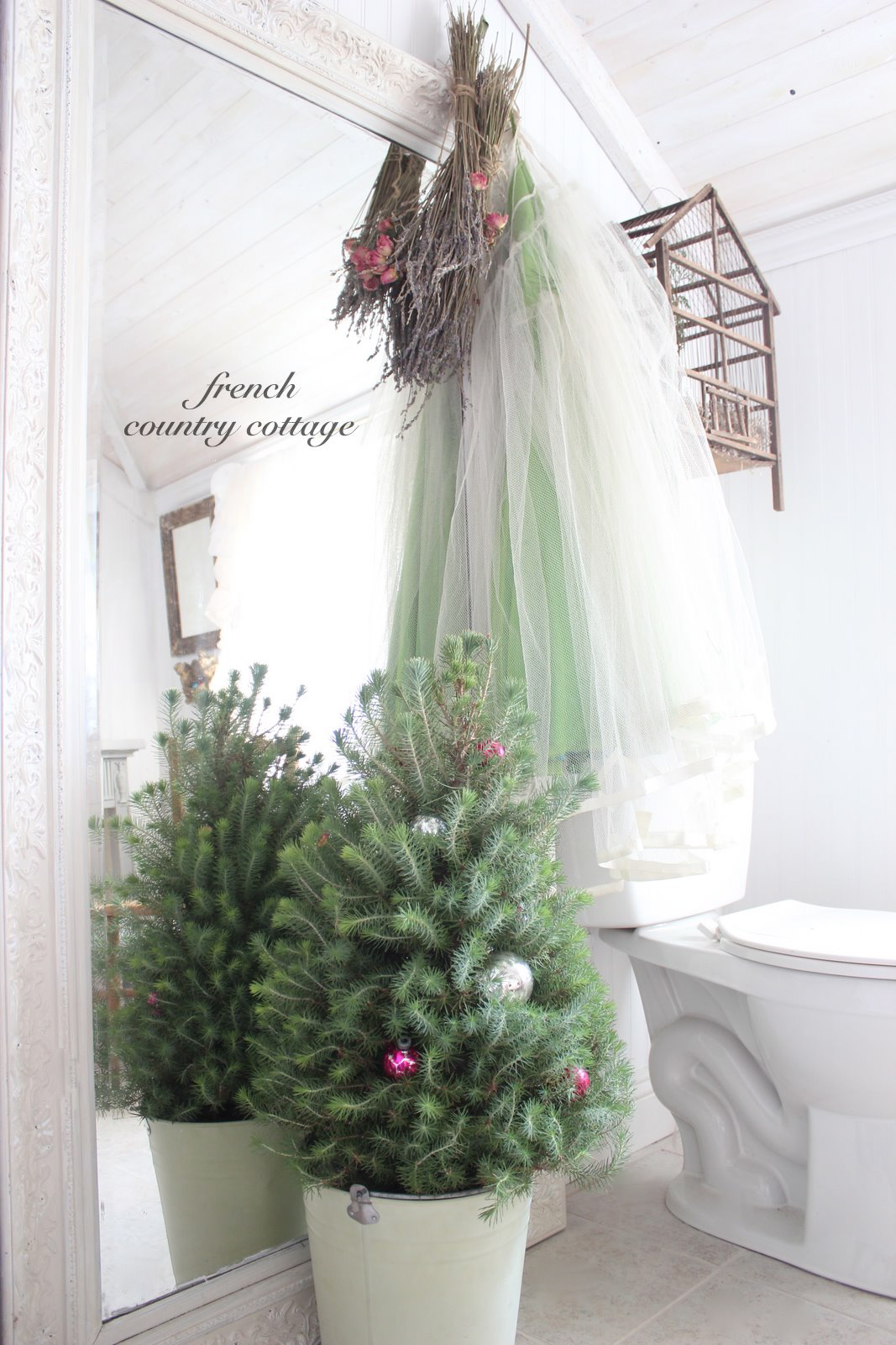 A Little Christmas French Country Cottage