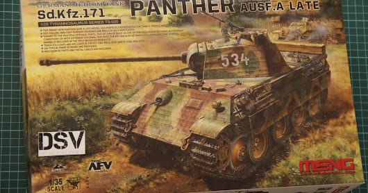 Meng 1/35 Panther Ausf.A Late (TS-035)