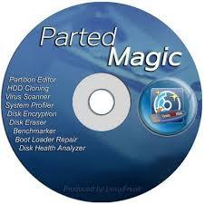 تحميل أسطوانة بارتشن ماجيك 2017 بوت Parted Magic 2016.01.06 iso