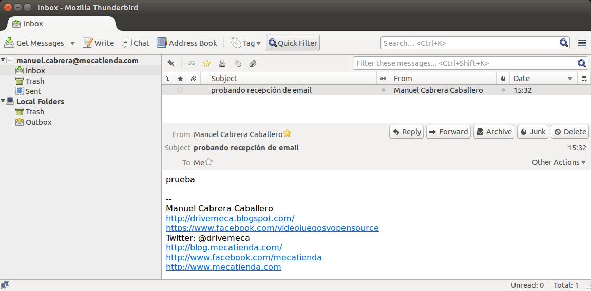 DriveMeca instalando y configurando Postfix multi domain paso a paso.