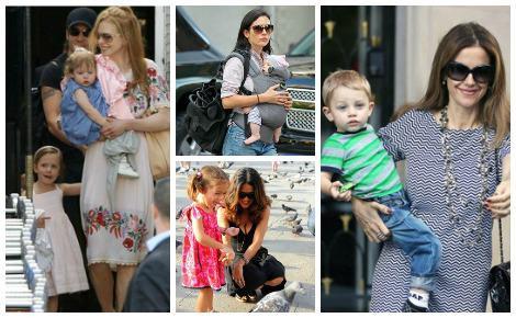 Image: 10 Celebrity moms pregnant over 40