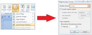Tips Membuat Nomor Halaman Dengan Format Berbeda Di Word7