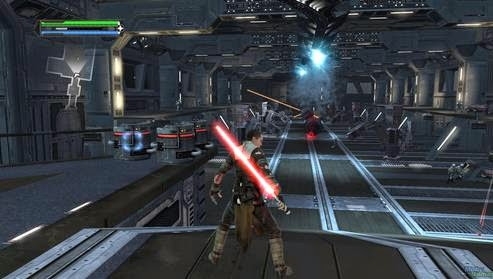 Gameplay Star Wars The Force Unleashed
