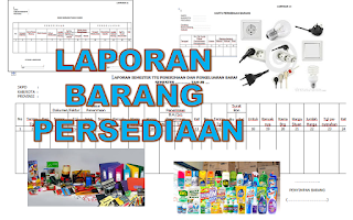laporan barang persediaan sekolah
