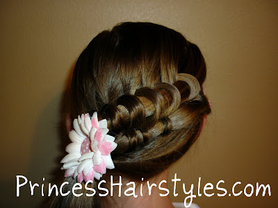 coiled spiral braid