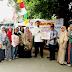 PKS Serahkan Bantuan Untuk Korban Kebakaran Kebayoran Lama