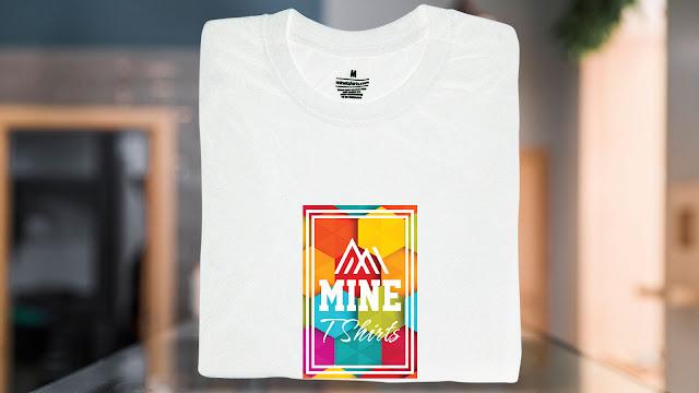 SLT03-P6FC-CTS Logo & Text T Shirt Design, Custom T Shirt Printing