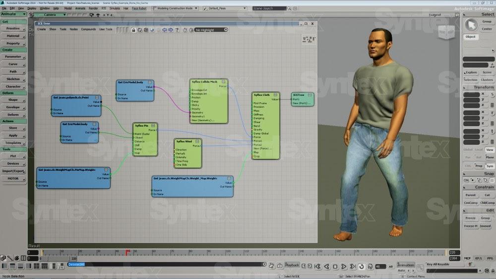 Original Softimage 2015 Software