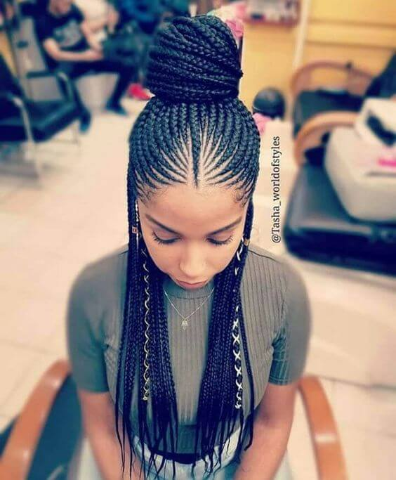 31 Trendy Cornrows Braids Hairstyles For Black Women To