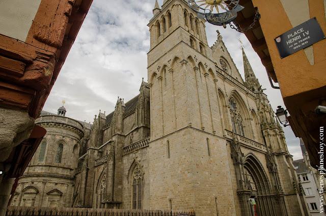 Catedral Vannes viaje Bretaña turismo