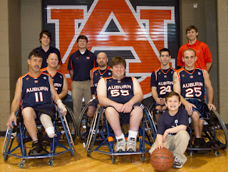auburn basketball wheelchair uniforms