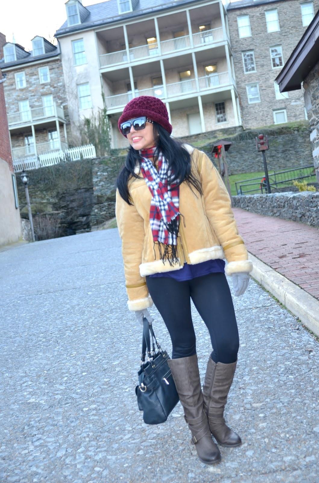 Cuadros, Leggings y un Sombrero