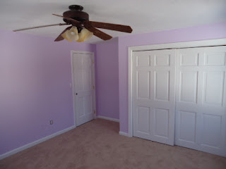 Finished bedroom painting in Mansfield, MA.