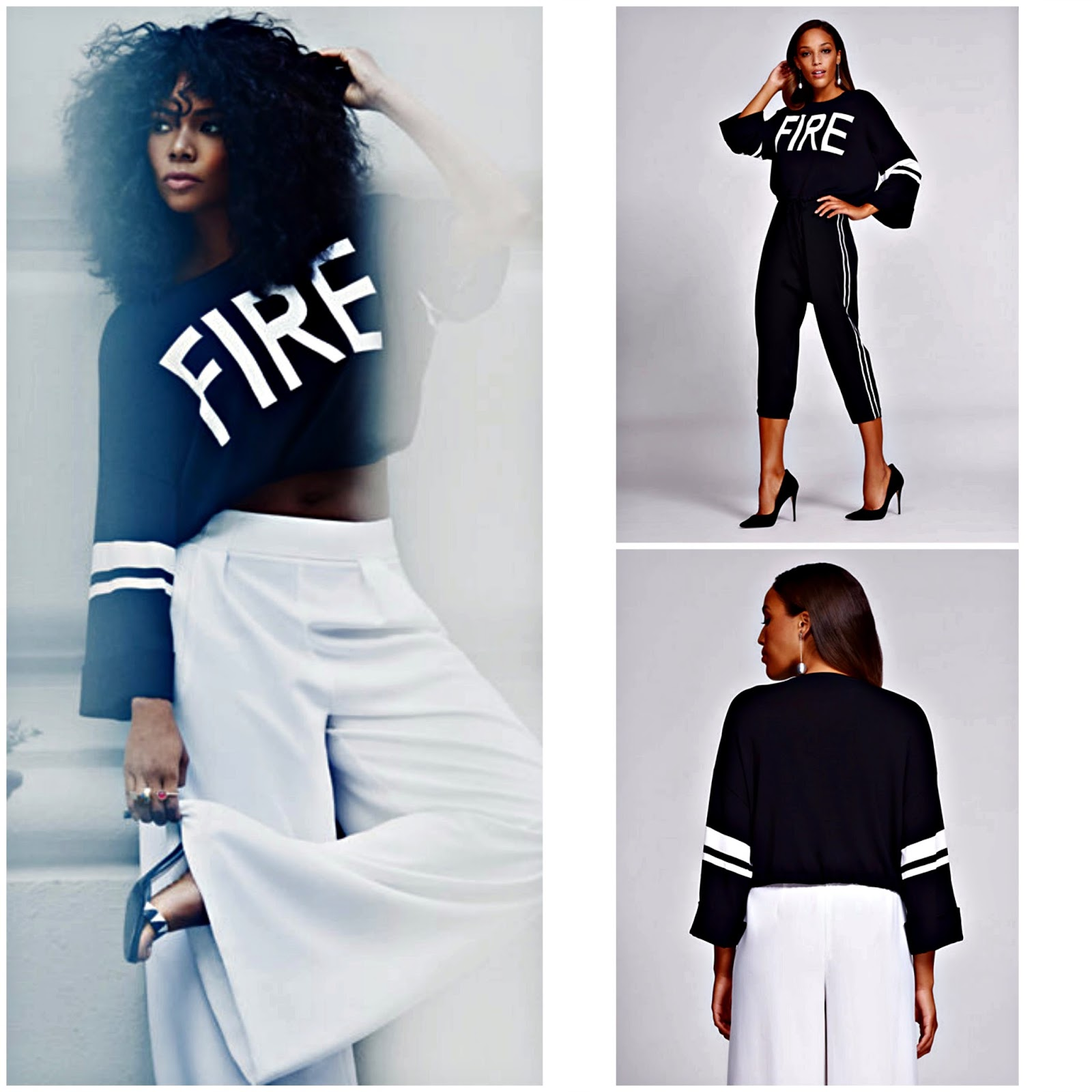 "Click here to buy ""Fire"" Sweater, a favorite this fall for fashion divas!"