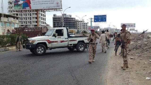 اعتراض تعزيزات لمجلس عيدروس من شبوه بواسطة الحماية الرئاسية