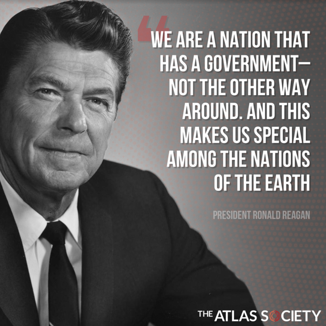 Reagan on Government's Place