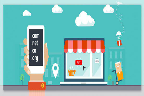 How to Select Choose a Domain Name for Online Store Ecommerce Business-600x400