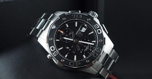 (FOR SALE) TAG HEUER AQUARACER AUTOMATIC CHRONOGRAPH 500M