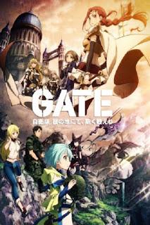 sinopsis Gate: Jieitai Kanochi nite, Kaku Tatakaeri (2015), trailer, movie