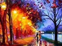 Mengapresiasi Lukisan Impresionisme Karya Leonid Afremov