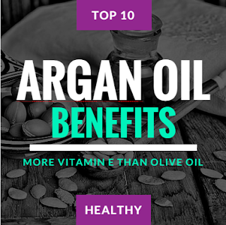 Benefits Of Argan Oil (More Vitamin E Than Olive Oil)