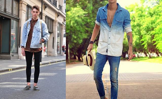 Look Masculino com Jaqueta Jeans (1)