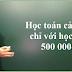 Học toán cả năm chỉ với học phí 500 000đ
