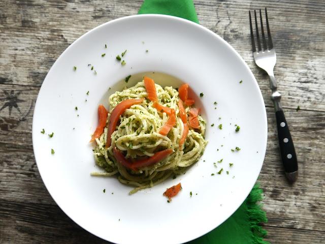 Brokułowe spaghetti - Czytaj więcej »