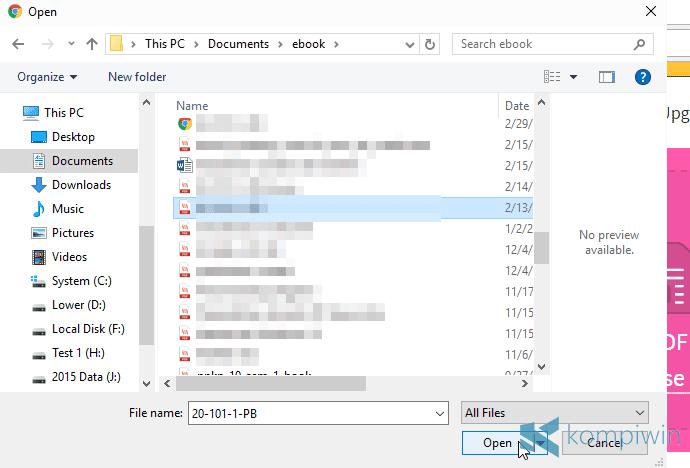 membuka pdf yang terkunci