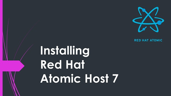 Install Red Hat Enterprise Linux Atomic Host 7