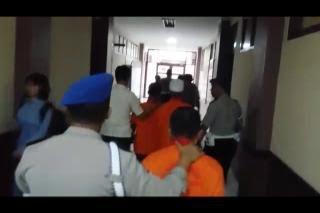 Tahanan Polresta Adu Jotos