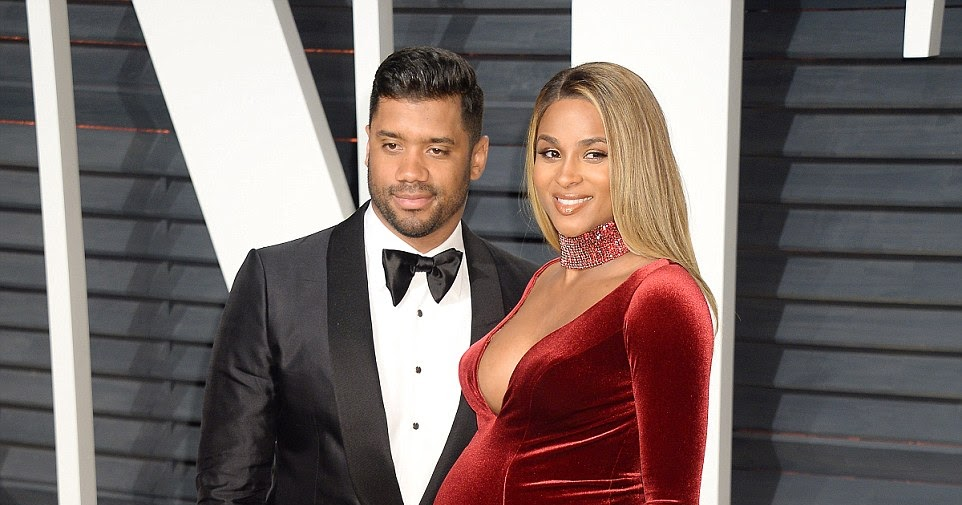 Pregnant Ciara divides fans with NAKED family photoshoot