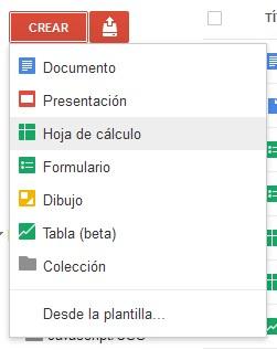 Google Docs como base de datos. Preparar hoja de cálculo   Oloblogger