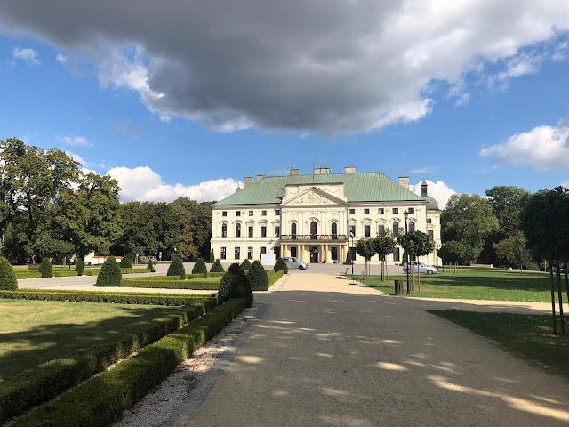 pałac sanguszków, pałac w lubartowie