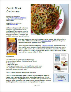 Cleo coyle recipes comic book carbonara a graphic novel carbonaracleocoyle pdf coverg forumfinder Images