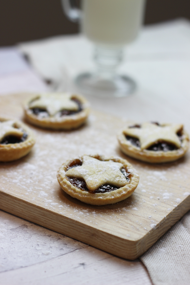 Star Topped Mincepies Christmas