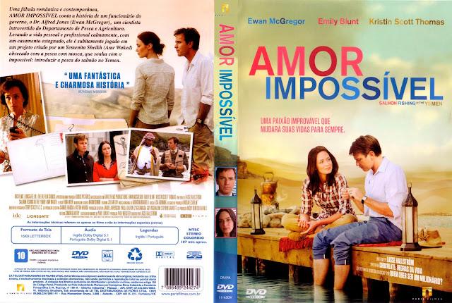 Capa DVD Amor Impossível