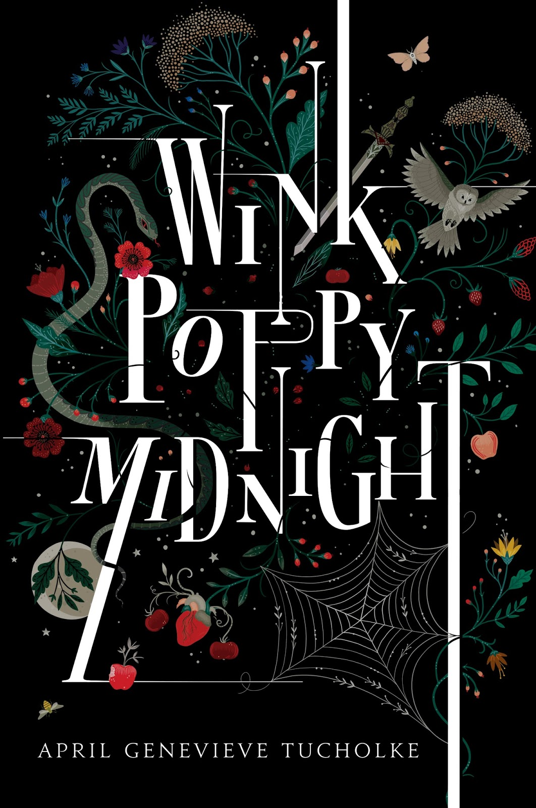 Best Book Covers Goodreads ~ Reseña wink poppy midnight april genevieve tucholke