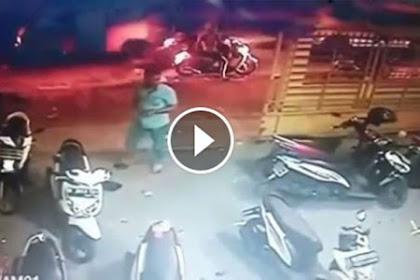Video: Hanya Dalam 1 Menit, 2 Motor Hilang Digondol Begal