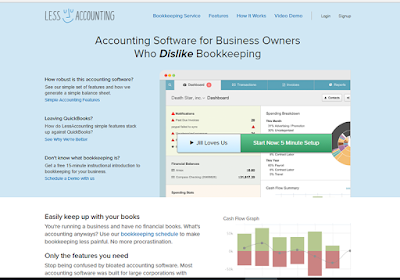 LessAccounting offers more than creating beautiful invoices