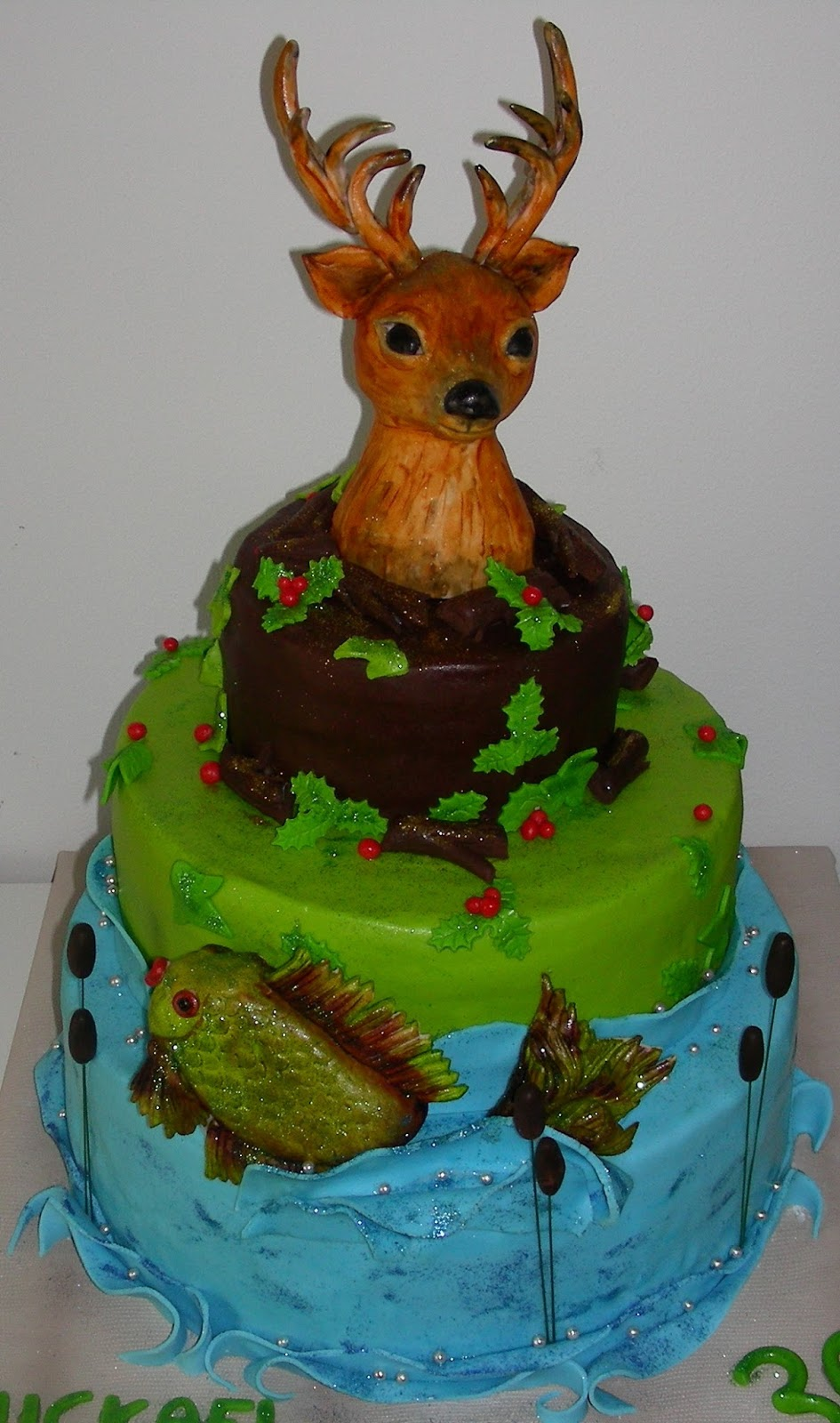 Decoration Gateau Anniversaire Chasse Home Baking For You Blog Photo