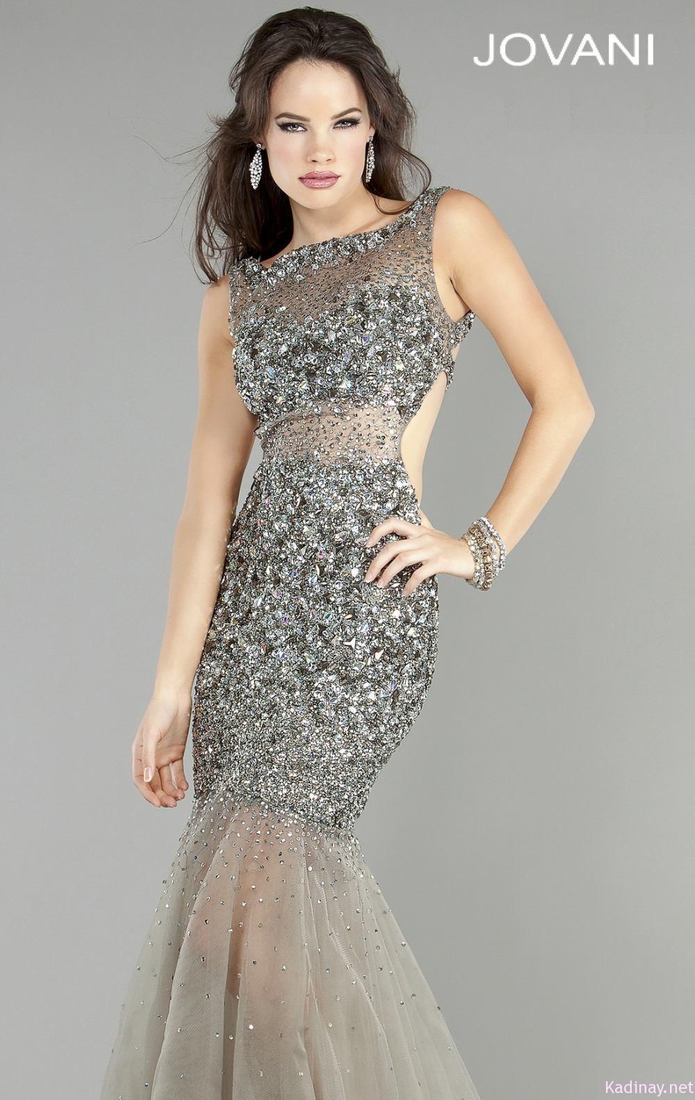 Adil ışık abiye elbise modası